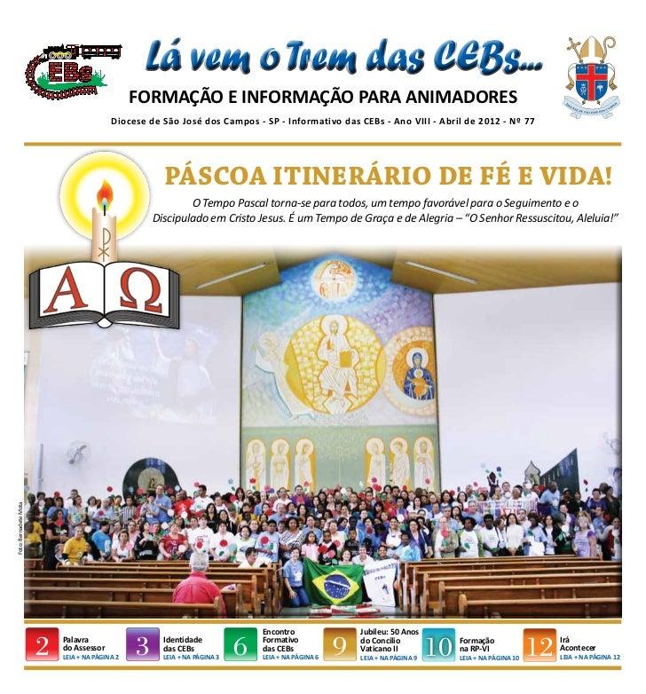 Informativo das CEBs - Diocese de São josé dos Campos - SP