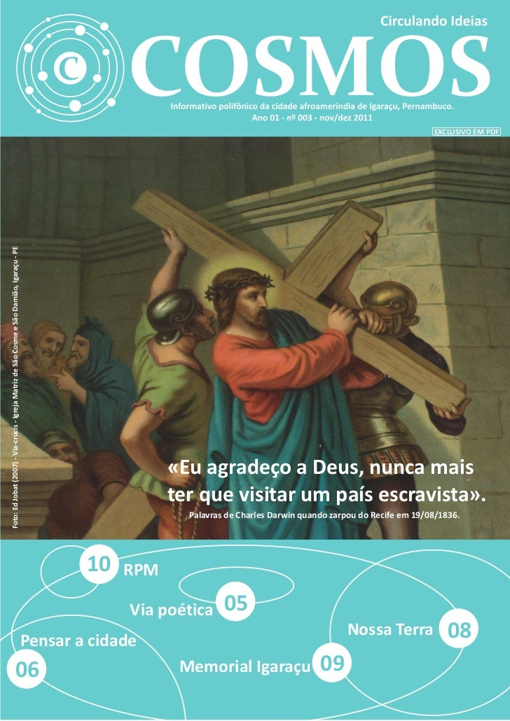 EXCLUSIVO EM PDFFoto: Ed Jobat (2007) - Via-crúcis - Igreja Matriz de São Cosme e São Damião, Igaraçu - PE                ...