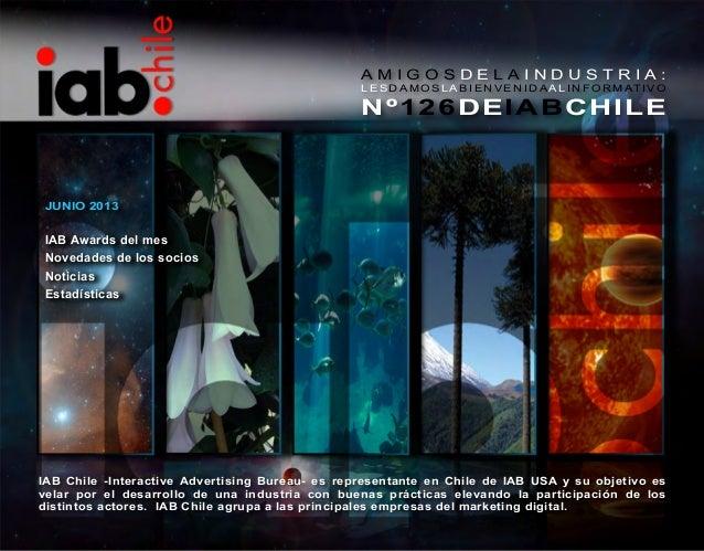 Informativo IAB Chile Junio 2013
