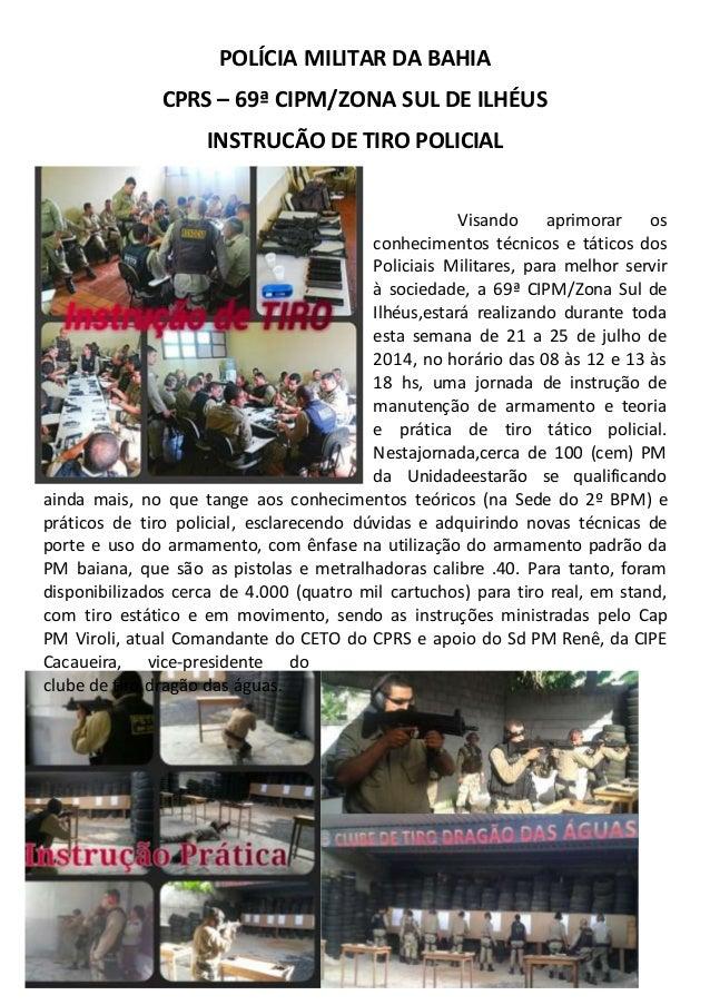 Informativo   imprensa 69_instrução de tiro
