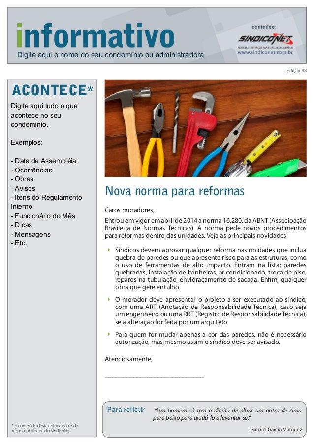 Informativo sindiconet 2014_maio