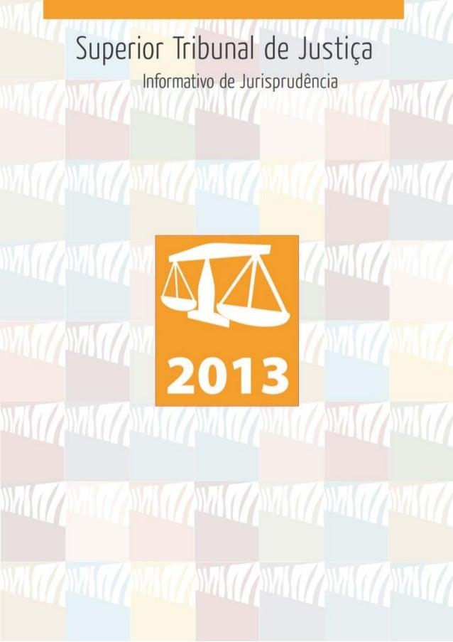 Superior Tribunal de Justiça Secretaria de Jurisprudência Seção de Informativo de Jurisprudência  Informativo de Jurisprud...
