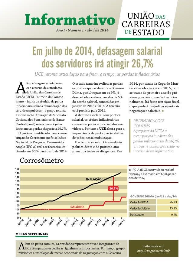 Informativo UCE - Ano I - Num I - abril de 2014