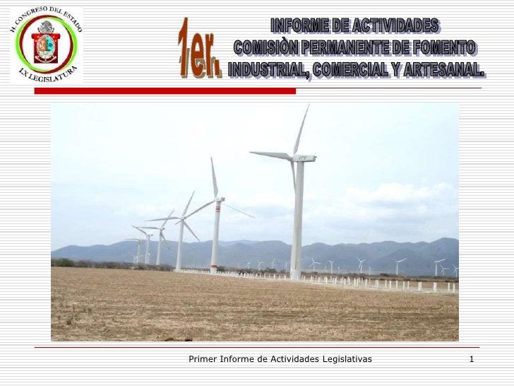 Informe de Actividades Legislativas - Saulo Chávez Alvarado