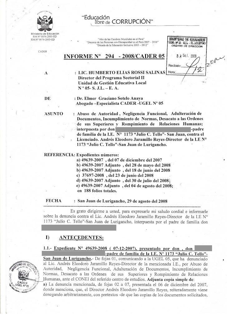 Informe 294   2008   Cader 05