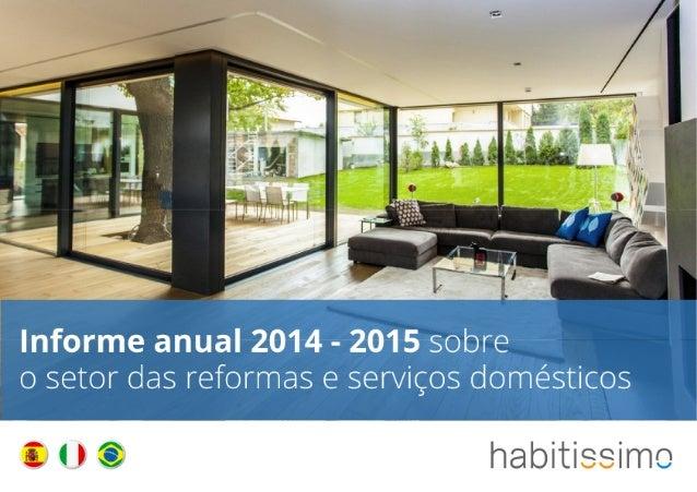 Informe anual 2014-2015 sobre o setor das reformas