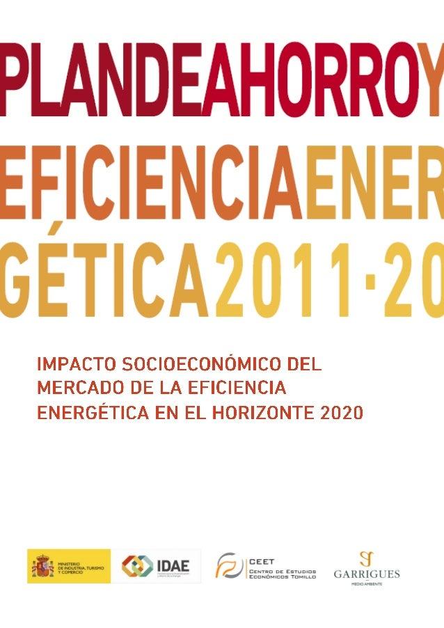 Impacto socioeconomico del mercado de la eficiencia energética en el horizonte 2020