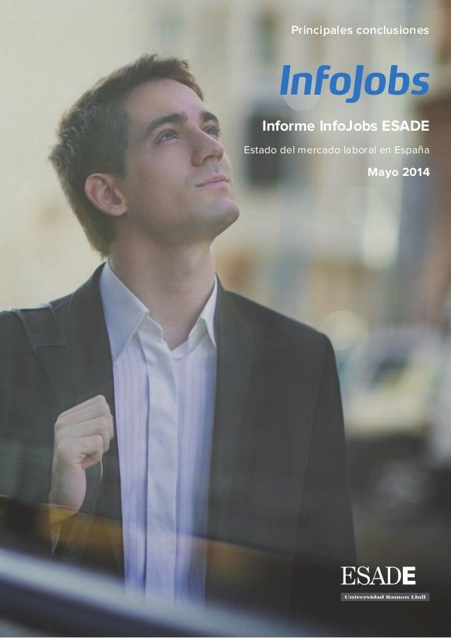 Informe Infojobs ESADE sobre el Mercado Laboral 2013