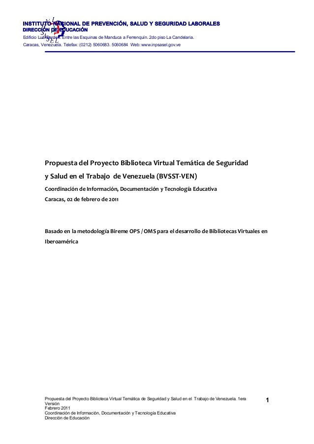 Informe propuesta biblioteca virtual