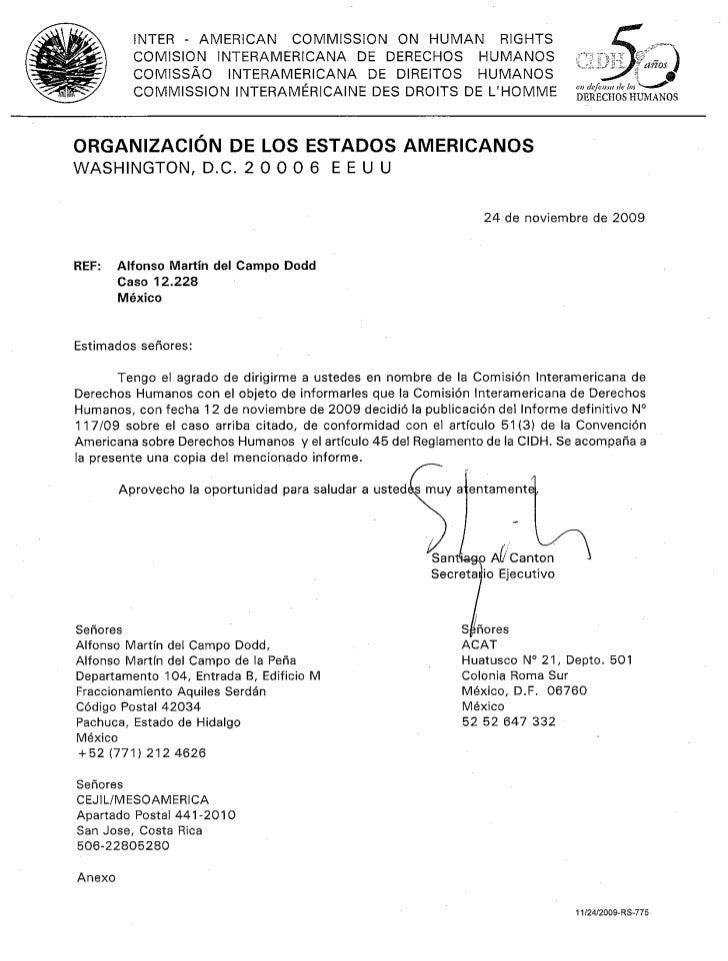 Resolución Corte Interamericana