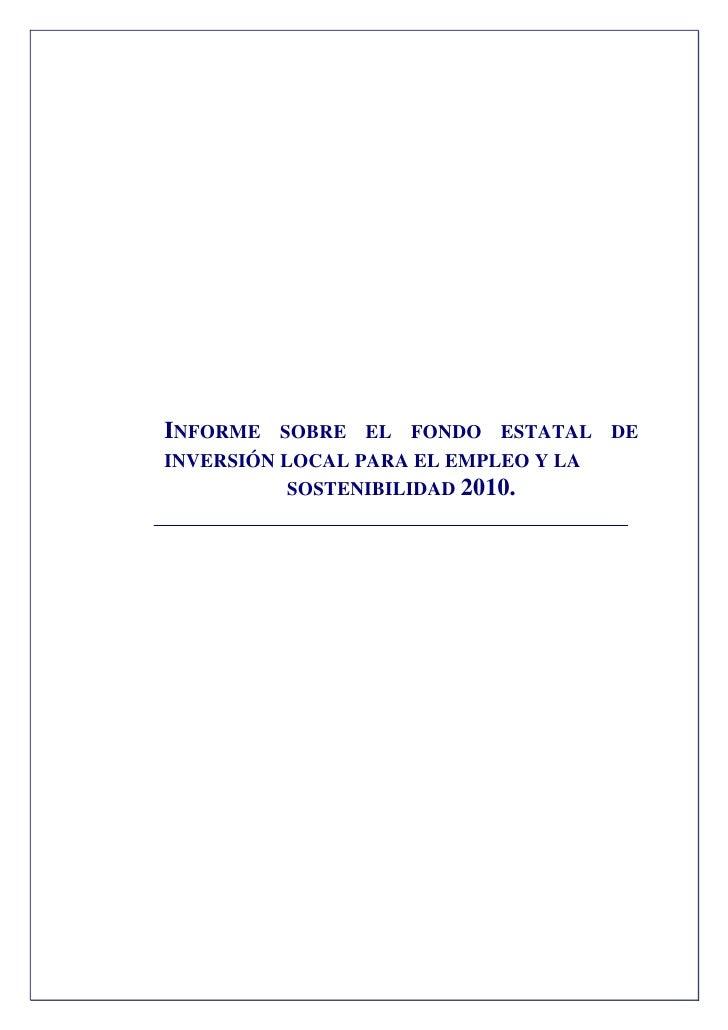 Informe Fondo Estatal