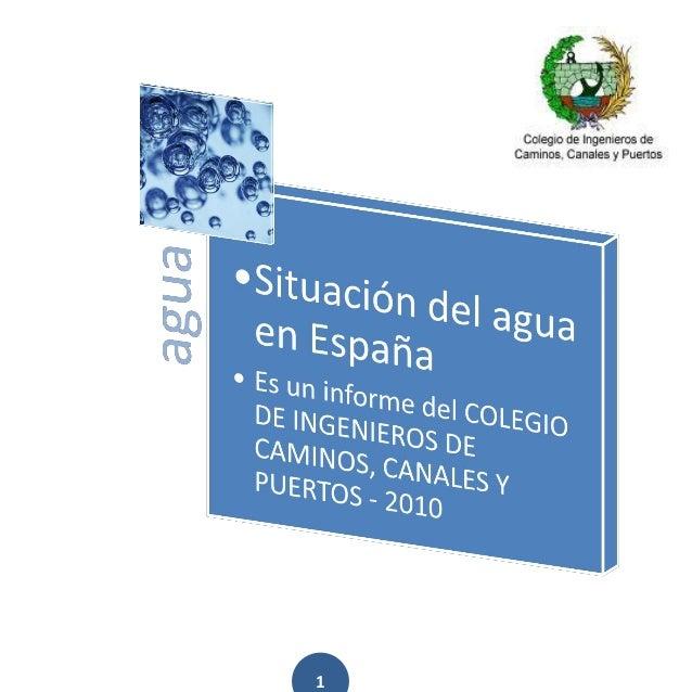 Informe agua 2010 ciccp (1)