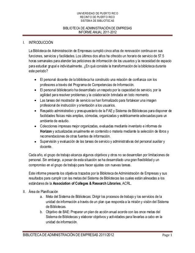 Informe anual 2011 2012