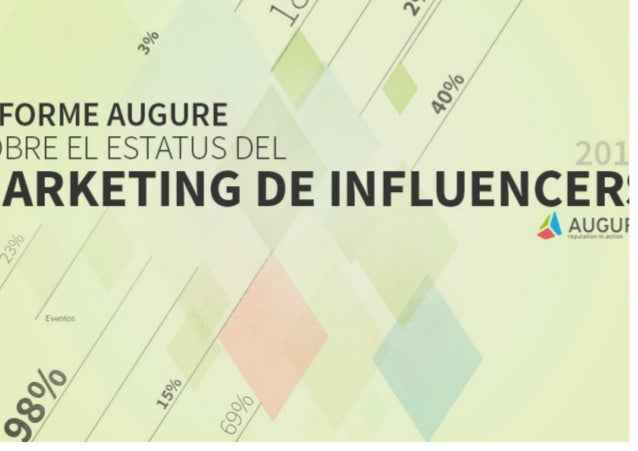 Primer Informe Augure sobre el Status de Marketing de Influencers