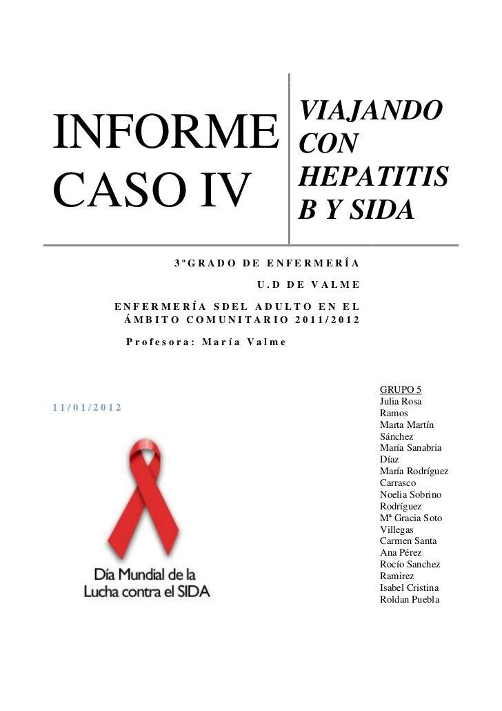 Viajar con sida y hepatitis informe