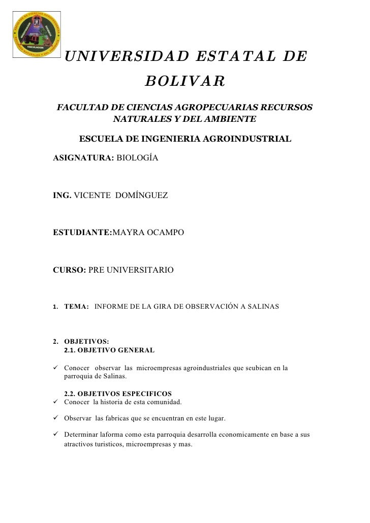 UNIVERSIDAD ESTATAL DE BOLIVAR FACULTAD DE CIENCIAS AGROPECUARIAS