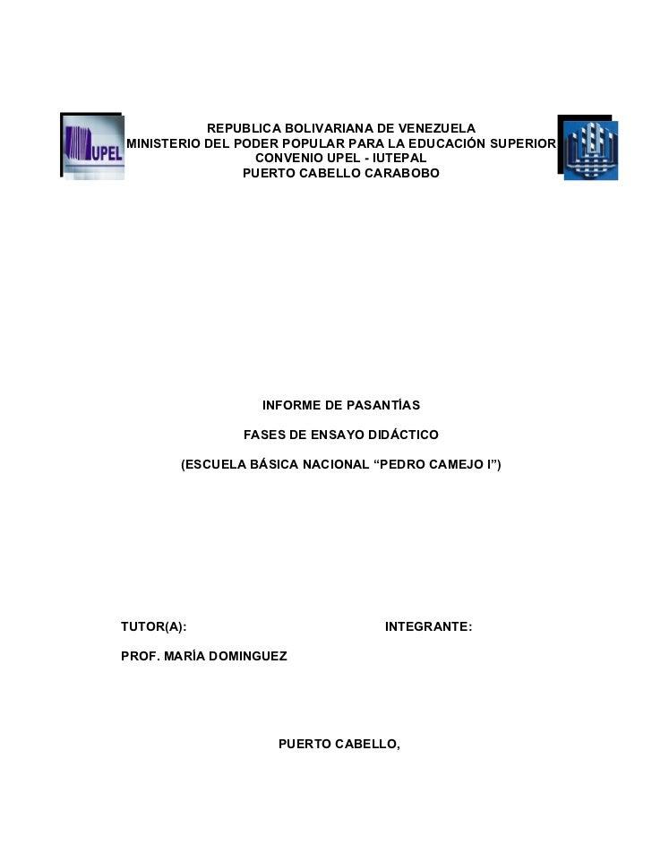 Informe de microclase
