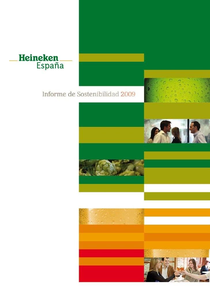 Informe de Sostenibilidad 2009     Construyendo un liderazgo sostenible