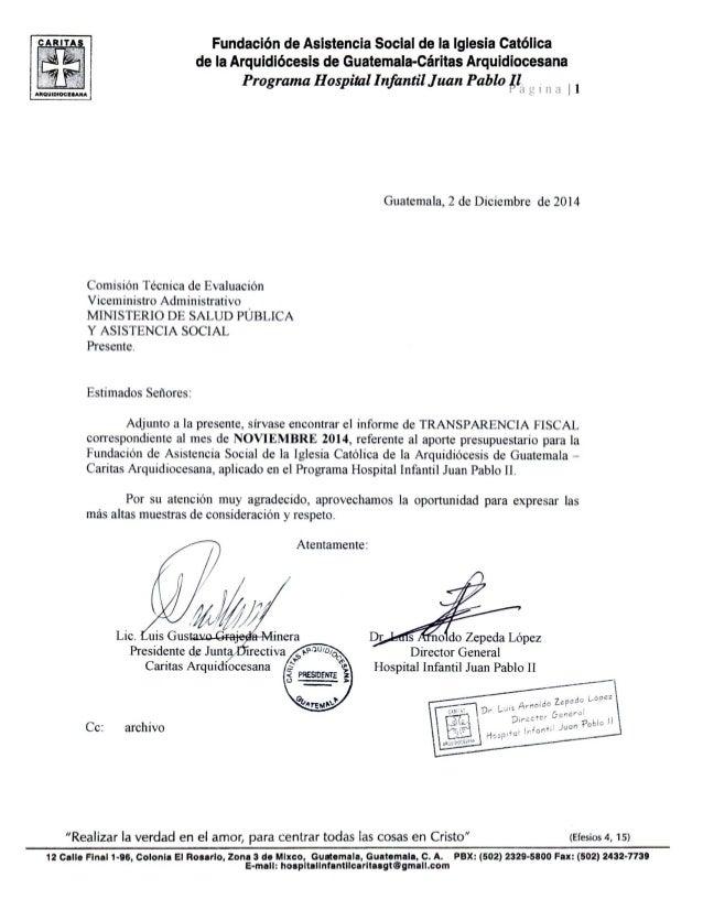 Fundación de Asistencia Social de la Iglesia católica de ia Arquidiócesis de Guatemala-Cáritas Arquldiocesana  Programa Ho...