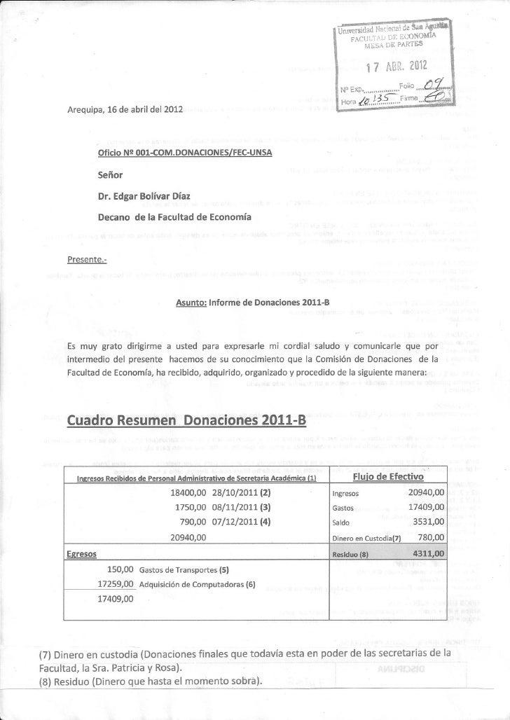 INFORME_DONACIONES 2011-B