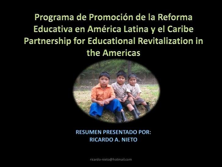 Como Mejorar la Educación