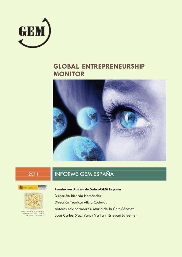 Informe Ejecutivo GEM España 2011