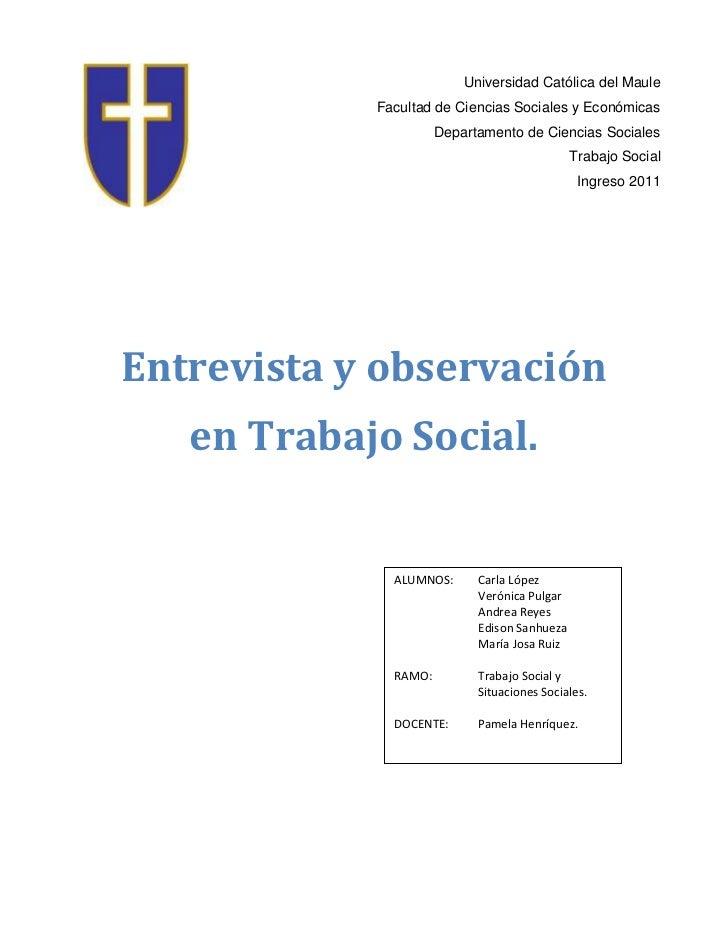 Universidad Católica del Maule            Facultad de Ciencias Sociales y Económicas                      Departamento de ...