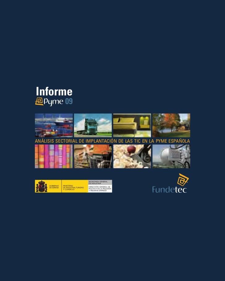 Informe e-PYME 2009