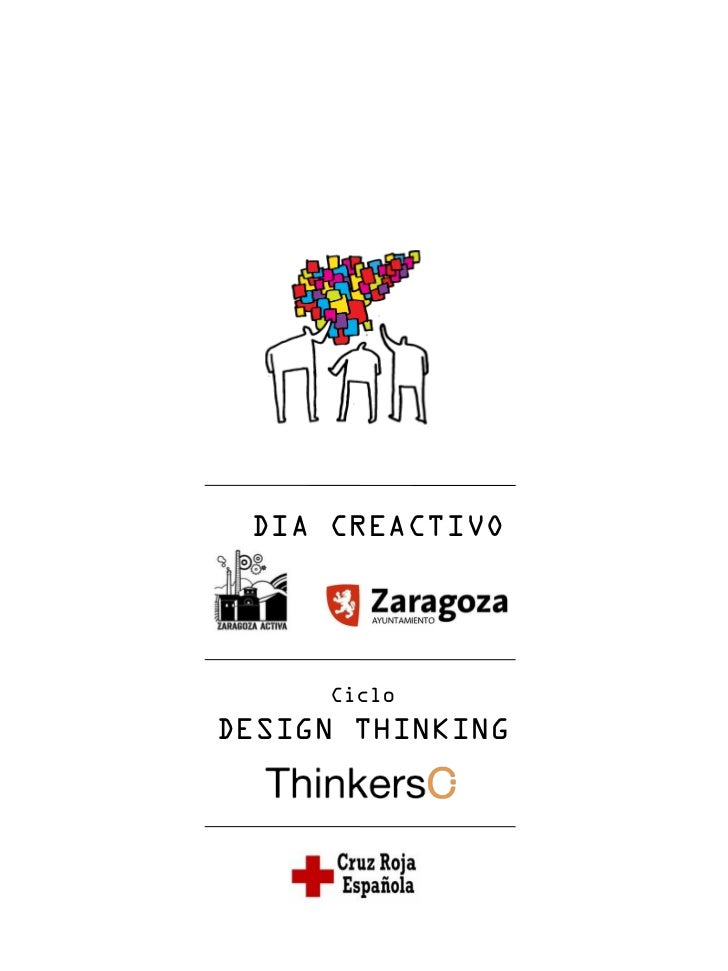 DIA CREACTIVO     CicloDESIGN THINKING
