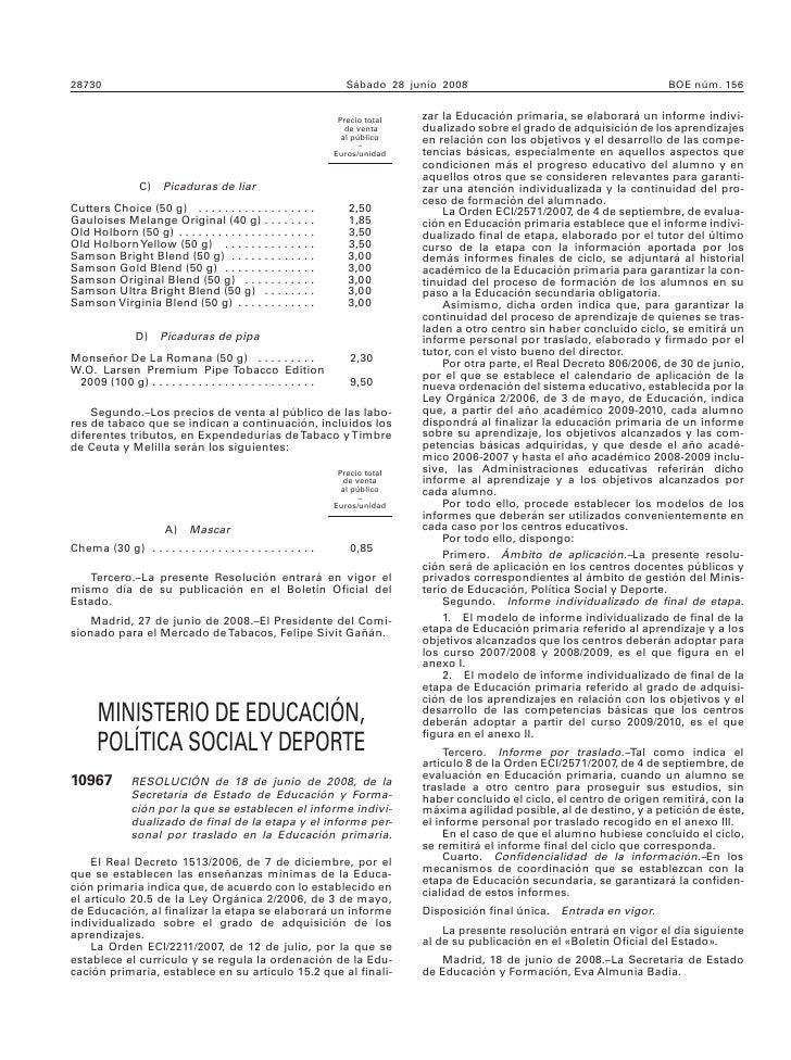 Informe Final Para Alumnos Con Neae