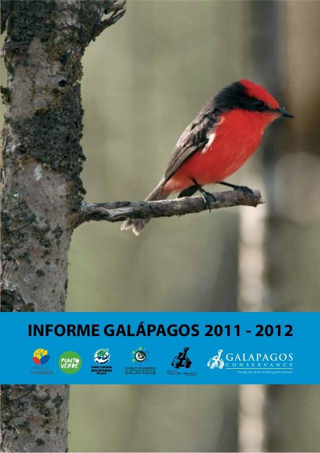 INFORME GALÁPAGOS 2011 - 2012