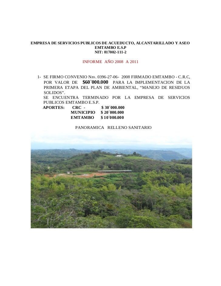 Informe gestion 2008_2011-emtambo