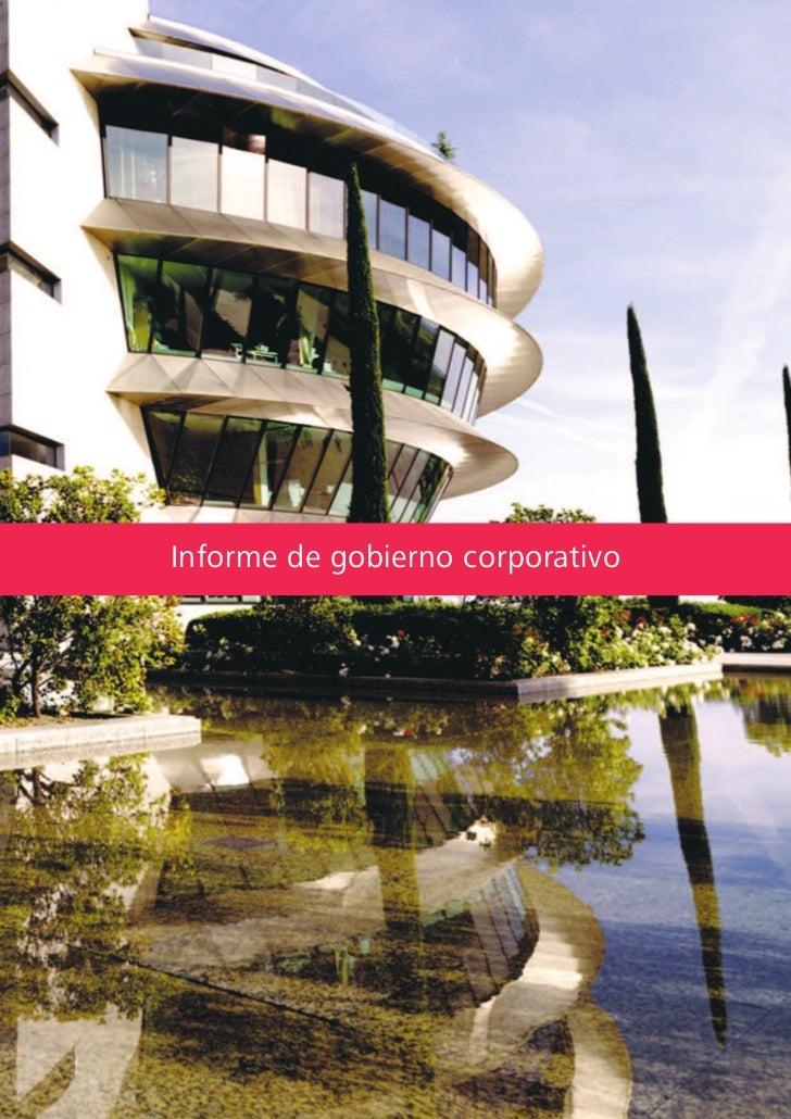 Informe de gobierno corporativo