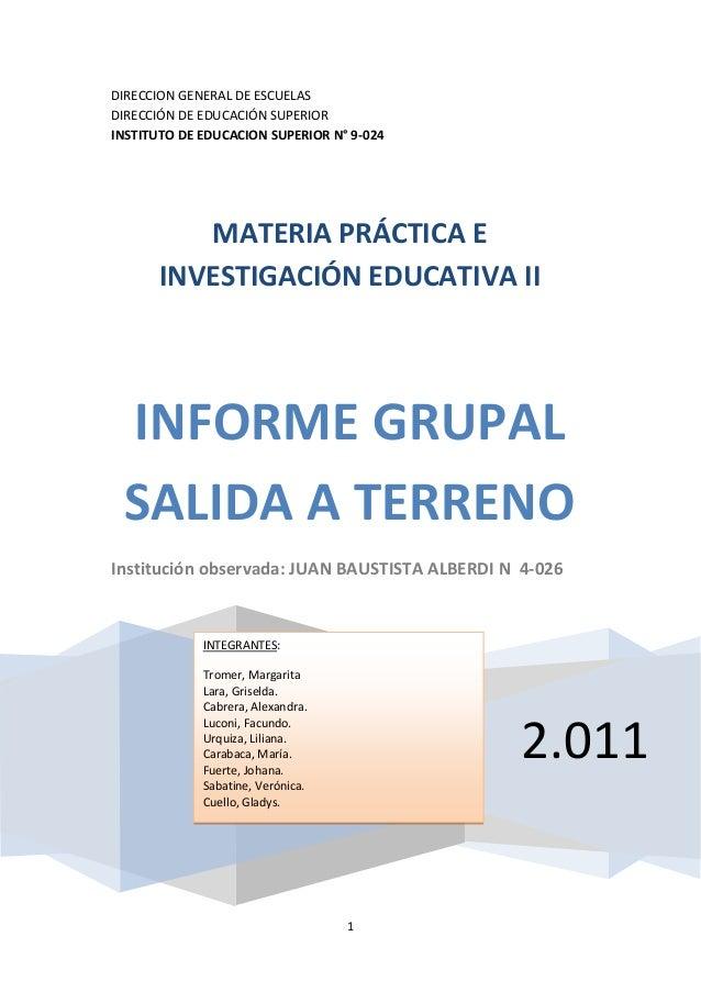 Informe grupal  esc. alberdi2_solé