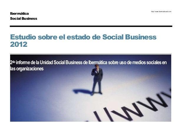 Informe sobre el estado de Social Business 2012