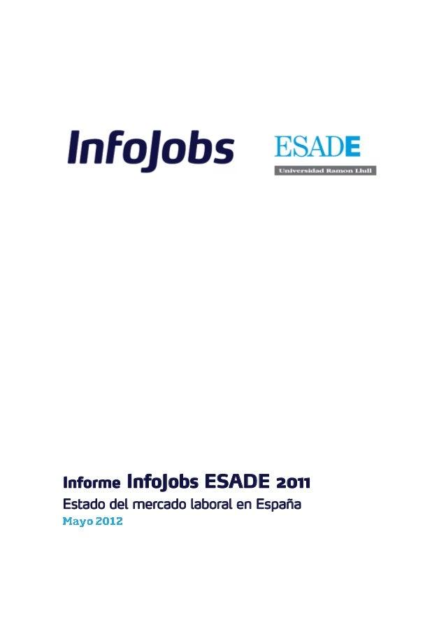 Informe infojobs esade_2011