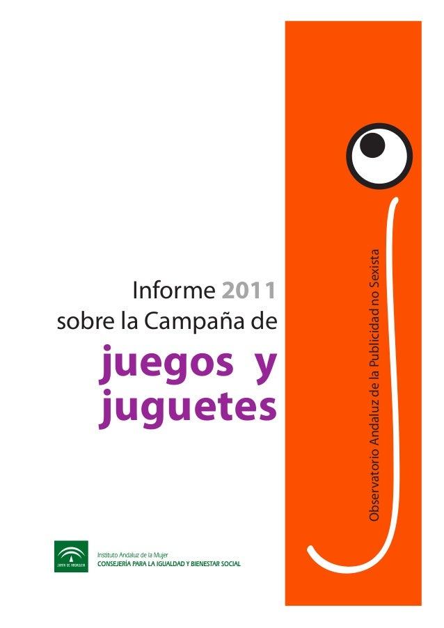 juguetes                                sobre la Campaña de                                       Informe 2011            ...
