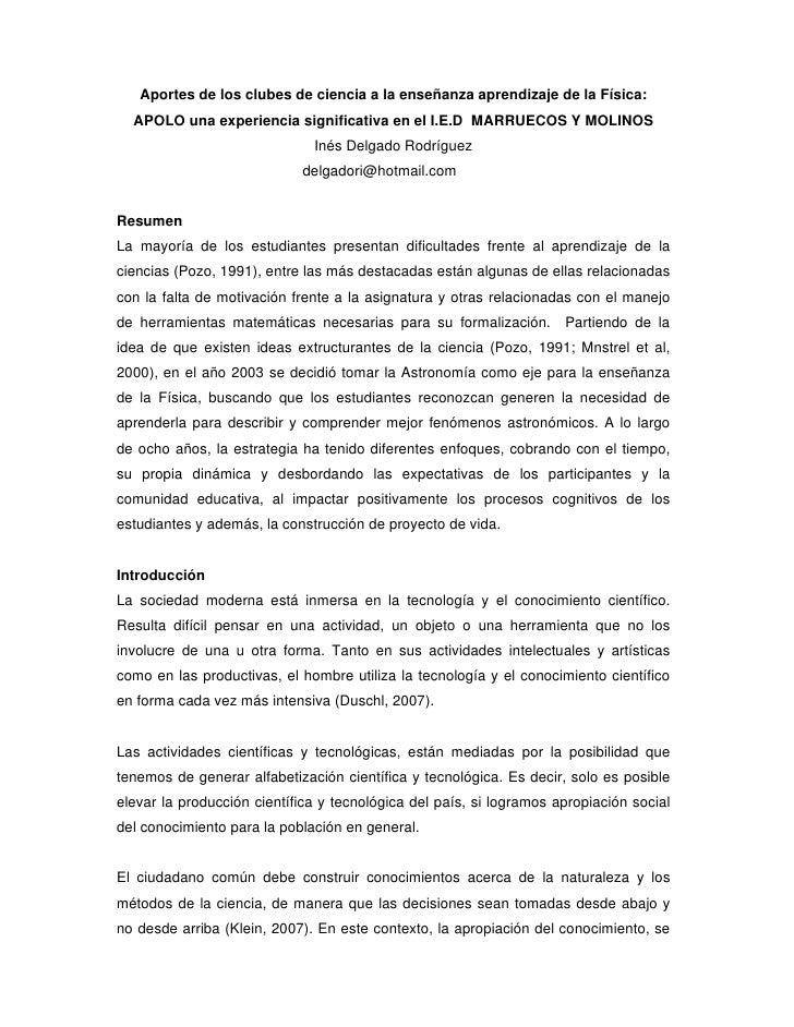 CLUB DE ASTRONOMIA APOLO