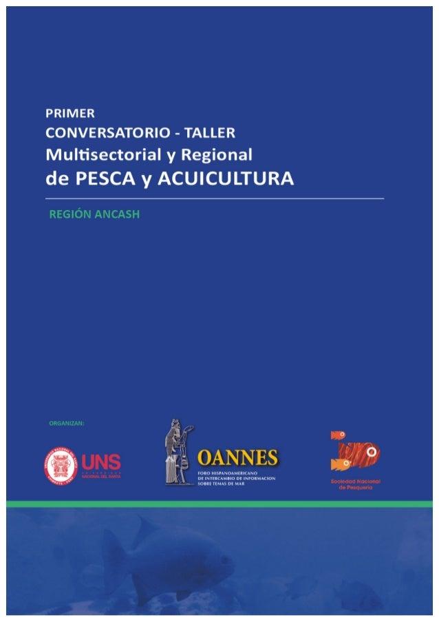 """""""Primer  Conversatorio  Taller  Multisectorial  y  Regional  de  Pesca  y  Acuicultura  –  Región  Ancash""""  Nuevo  Chimbot..."""