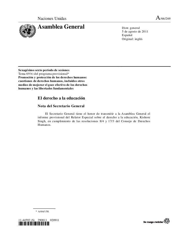 Naciones Unidas                                                                     A/66/269              Asamblea General...