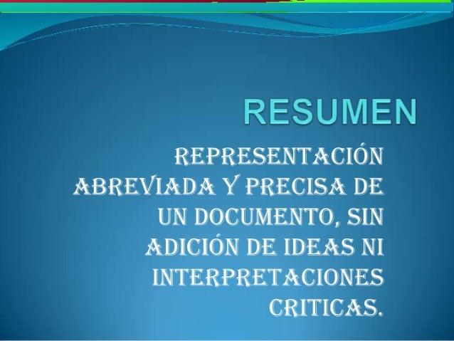 Informe, resumen y ensayo