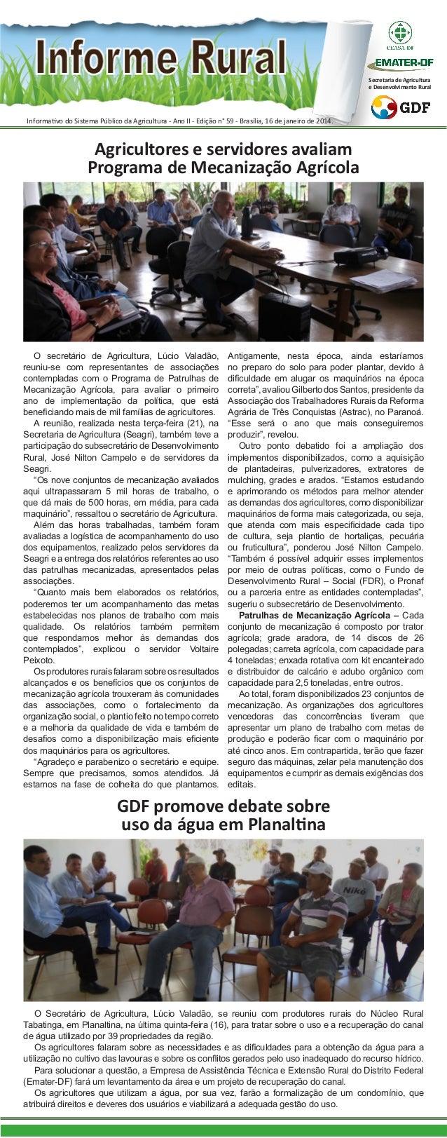 Informe Rural - 23/01/14