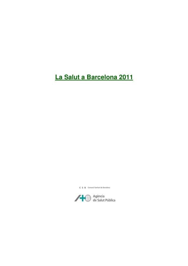 Informe salut 2011