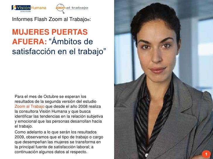 Informes flash rrhh mujeres laboralmente activas