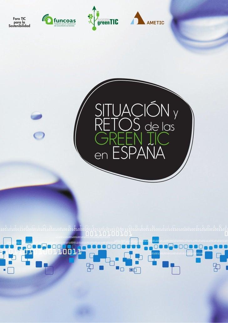 """Informe """"Situacion y Retos Green TIC en España 2011"""""""
