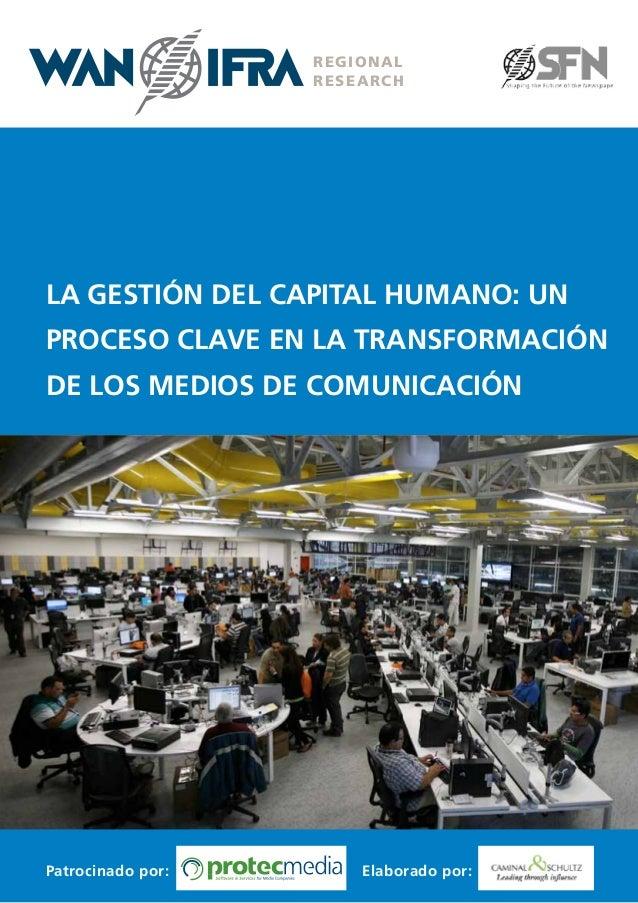 Informe sobre la Importancia de la Gestión de RH en la Transformación de los Medios