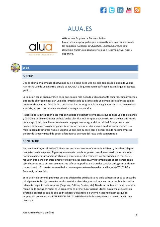 Informe web