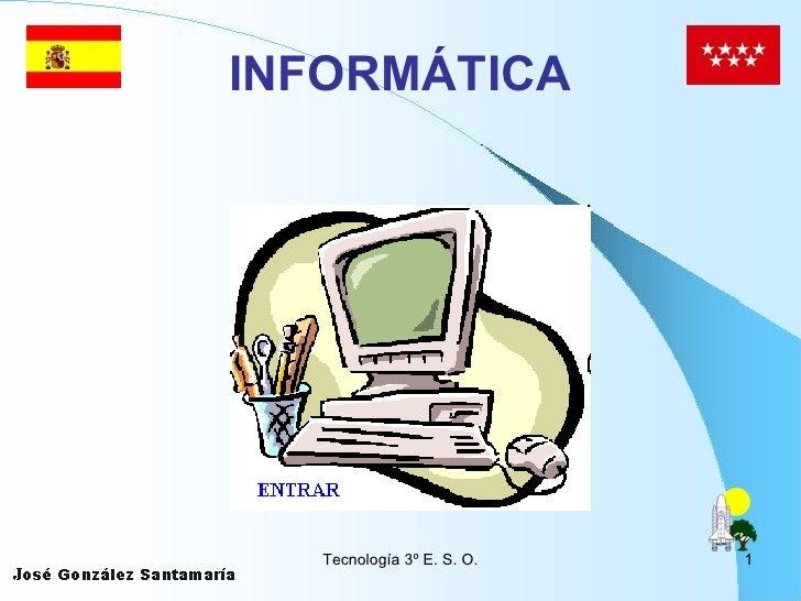 Informática 3º de la ESO.