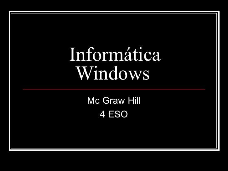 Informática 4eso