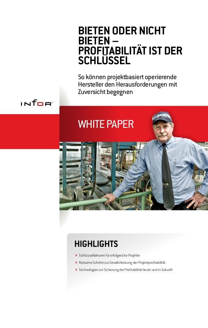 Whitepaper: Schlüsselfaktoren für erfolgreiche Projekte